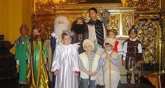Fiesta infantil de Navidad de la cofradía