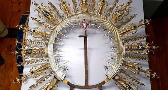 Restauración de la corona de la Virgen