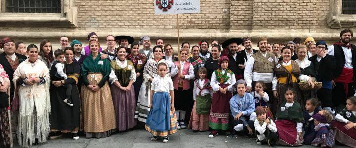 La Piedad está en la calle, también en el Pilar
