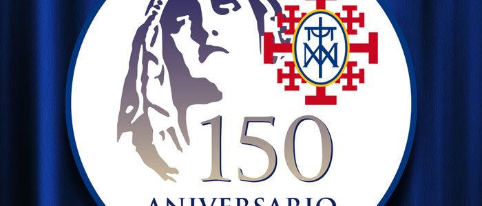 Emblema conmemorativo del 150 aniversario de nuestra imagen titular