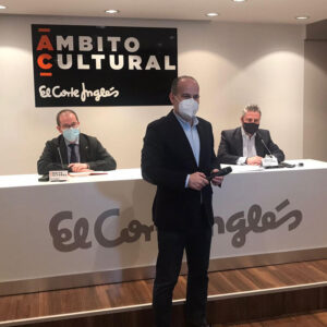 Charla en el Ámbito Cultural de El Corte Inglés