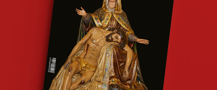 La Virgen de la Piedad, imagen de portada de la revista NSENCIA