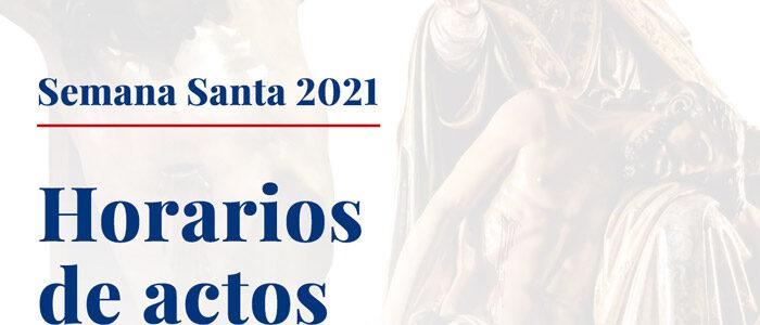 Actos Semana Santa 2021